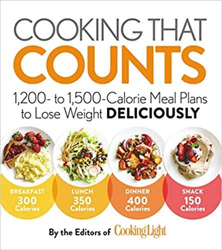 Cooking that Counts: Meal Plans to Lose Weight Deliciously (Paperback & Kindle Edition) by The Editors of Cooking Light