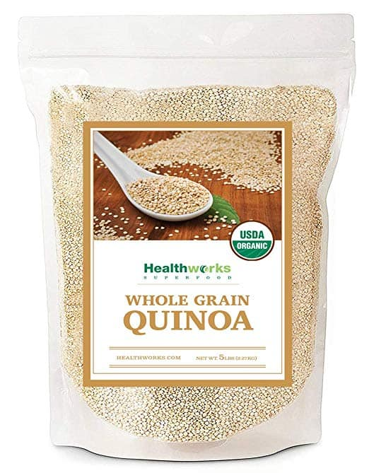 Healthworks Quinoa, Peruvian White Whole Grain