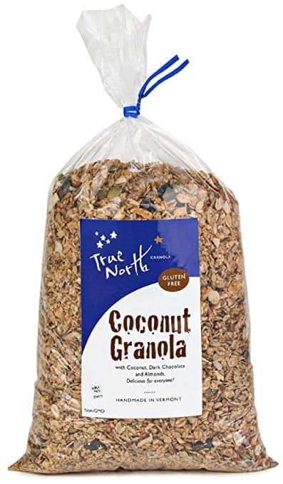 Bulk Gluten Free Organic Granola with Coconut, Almonds, Sea Salt and Belgian Chocolate