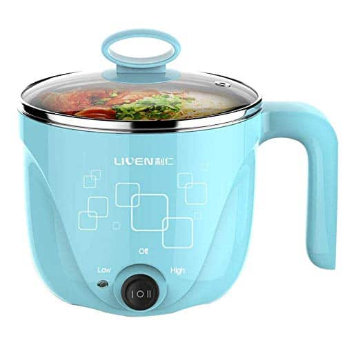 Liven's Electric Hot Pot with 304 Stainless Steel Inner Pot