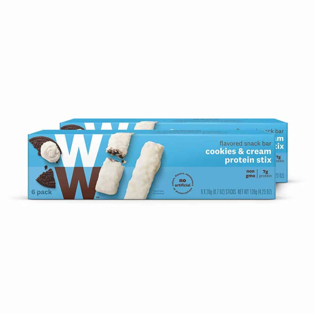 WW's Cookies and Cream High Protein Snack Stix