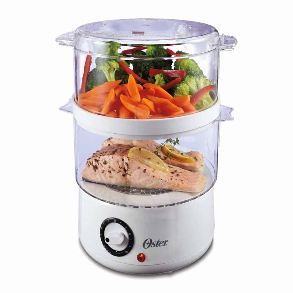 Oster's Double Tiered Food Steamer