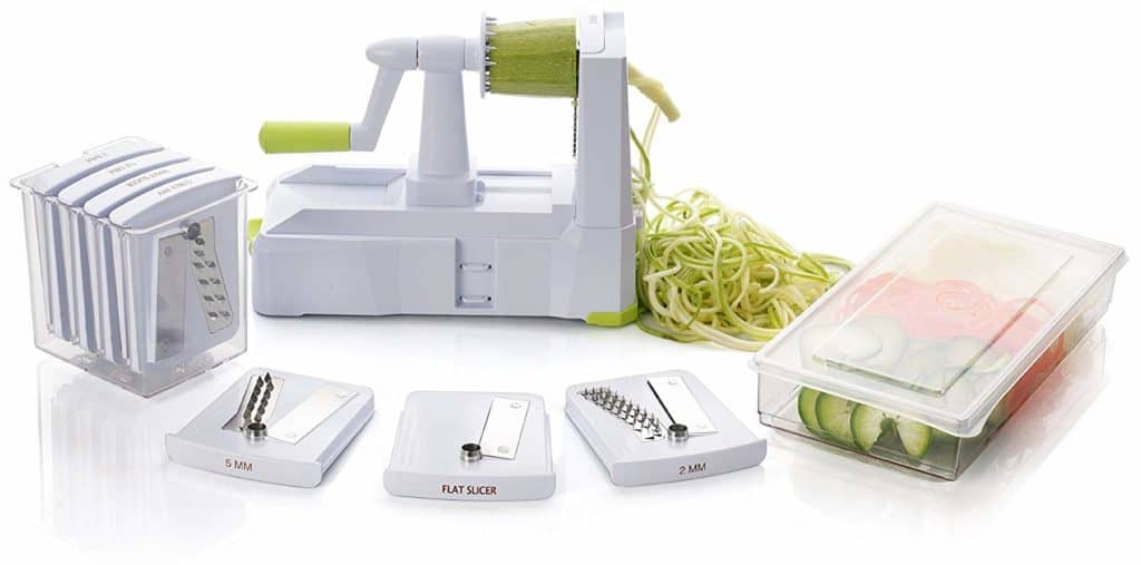 Brieftons' 7-Blade Spiralizer
