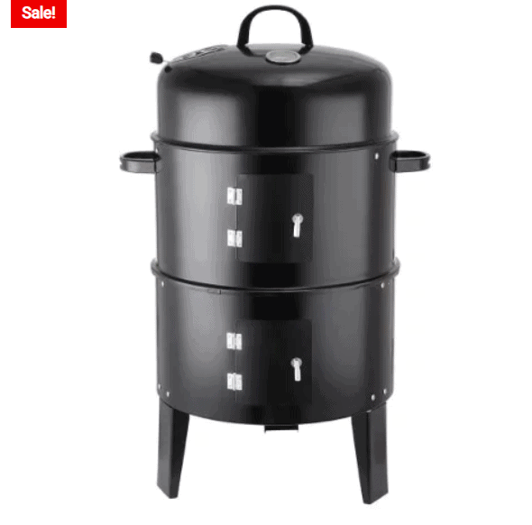 Portable Charcoal Grill 3-in-1 Camping Stove