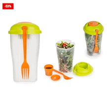 Salad Shaker Salad Cup Container