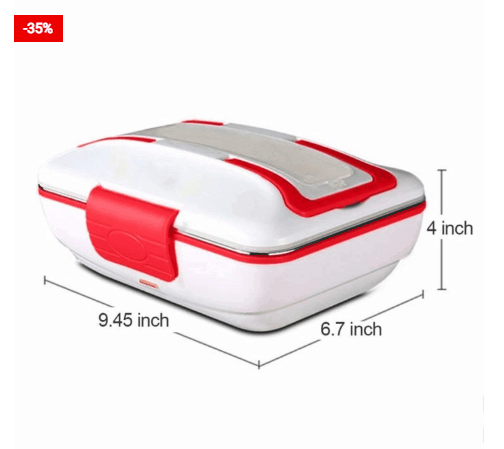 Self Heating Lunch Box Container