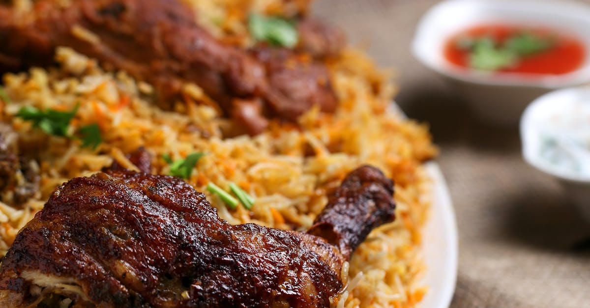 A close up of a plate of food